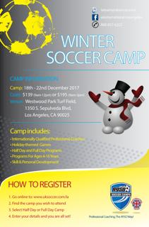 West LA Winter Camp