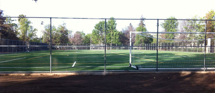 Turf field at Westwood Park